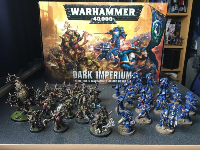 Dark IMperium 40k Starter