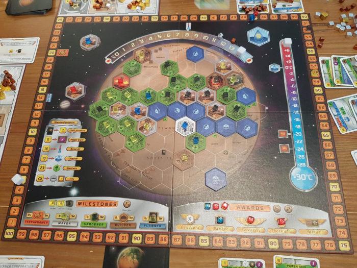 Terraforming Mars Boardgame