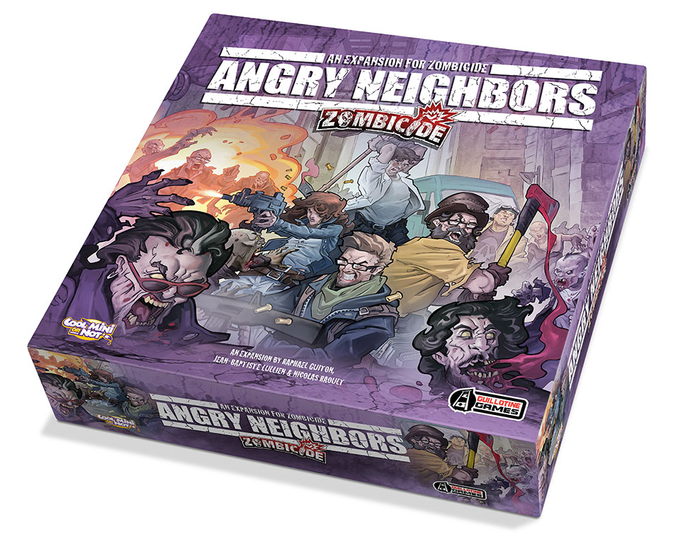 Angry Neighbors Zombicide Expansion